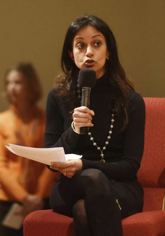 Connecticut Democratic Party Vice Chair Dita Bhargava. Photo: Tyler Sizemore / Hearst Connecticut Media / Greenwich Time