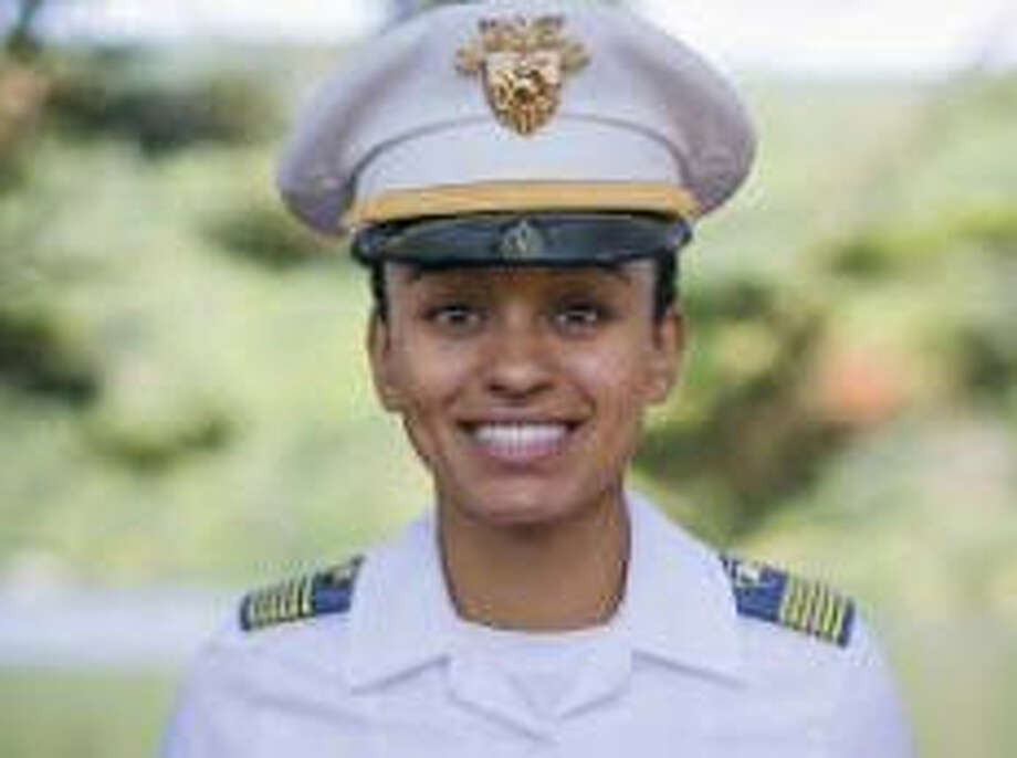 Simone Askew, 20, will be the next senior cadet - known as the First Captain - at West Point.