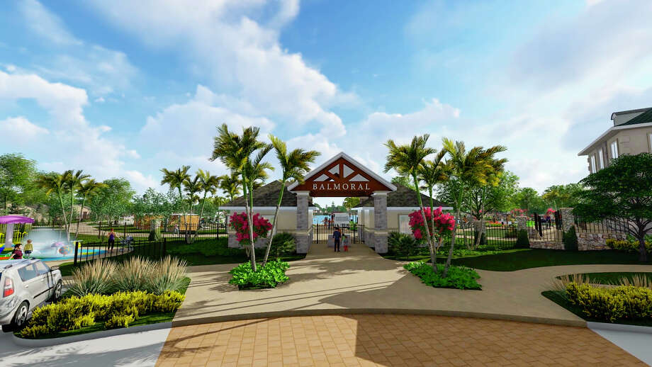 The amenity village in Balmoral will include the first Crystal Lagoon in Texas, according to developer Land Tejas. Photo: Land Tejas