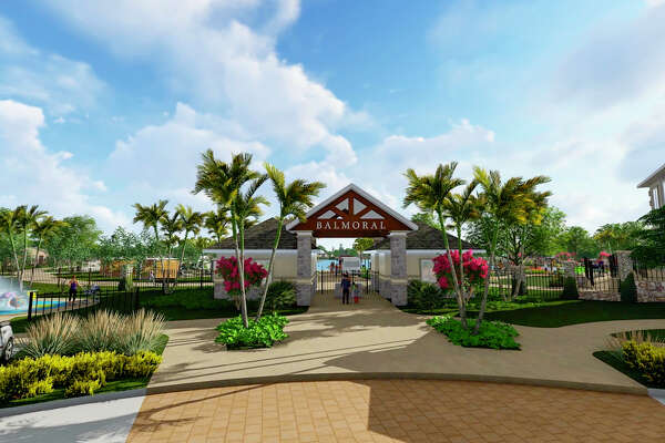 The amenity village in Balmoral will include the first Crystal Lagoon in Texas, according to developer Land Tejas.