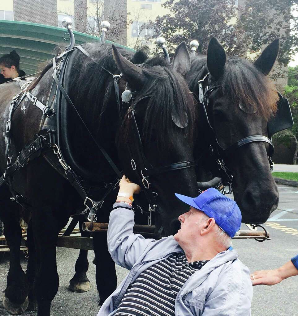 8, Barnwell Nursing Home In Valatie Had Horse And Carriage Rides Through