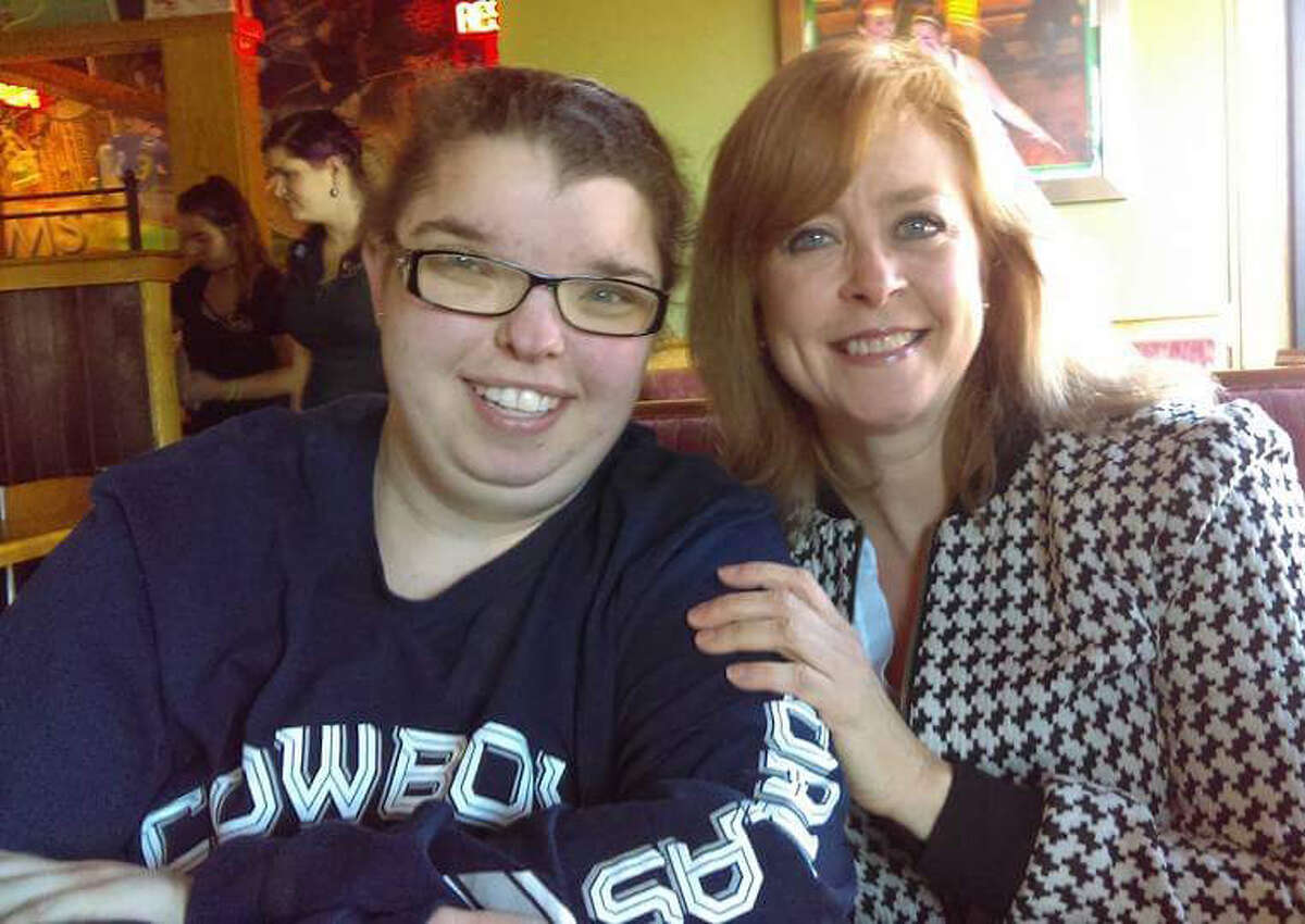 Karen Urban with Vanessa, who received a kidney from Urban's son, CJ, who died of a drug overdose (Photo courtesy of Karen Urban)