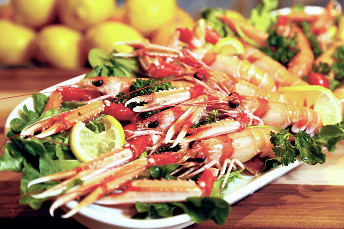 Amalfi Ristorante Italiano & Bar is among the restaurants participating in 2017 Culinary Stars dining event. Shown: Chef Giancarlo Ferrara's Sicilian lobster scampi.