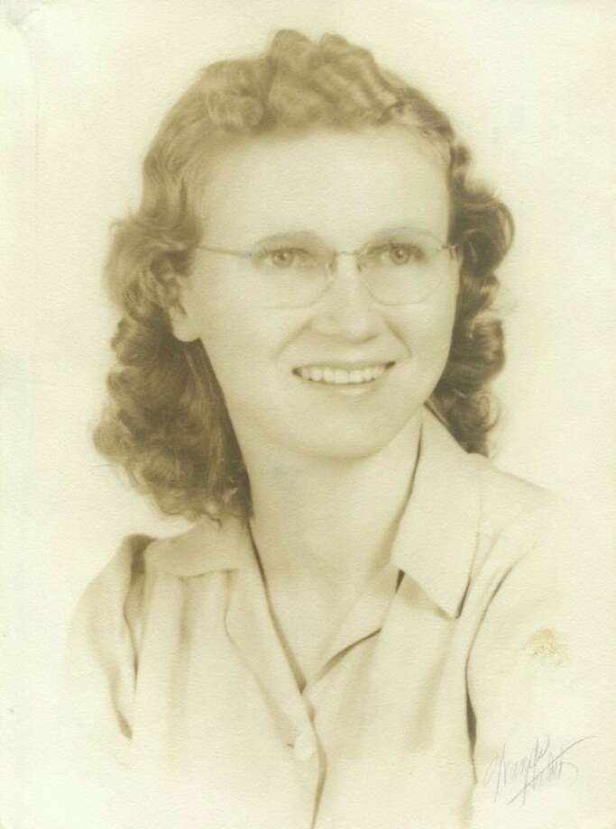 This is Ruth Root Jones, the daughter of Theo and Randolph Root and mother of Tania. Tania, her sister, Thyra, and her brothers, Oscar and Beryl Jones Jr., all attended the Barrett School on Wheeler Road in Midland. Tania said, 'It was the highlight of my life.'