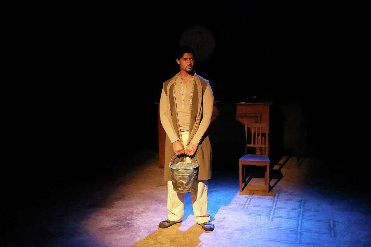 """Roc Living as Jesus in """"The Last Days of Judas Iscariot"""" by the Gravity Players."""