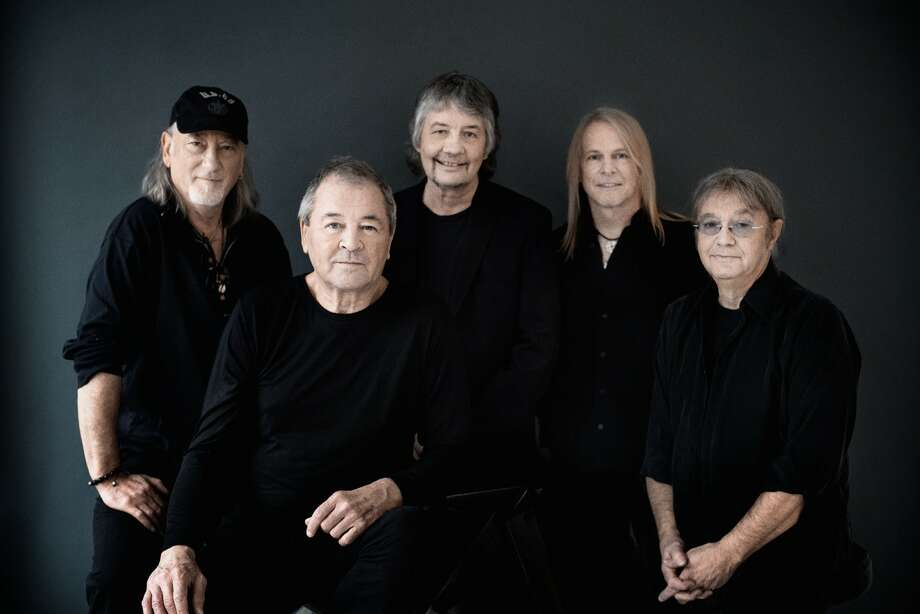 Deep Purple in 2017 features, from left, bassist Roger Glover, singer Ian Gillan, keyboardist Don Airey, guitarist Steve Morse and drummer Ian Paice Photo: Autonomic Media