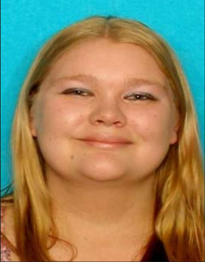 A 2012 photo of Heather Haskins, who is wanted for theft.