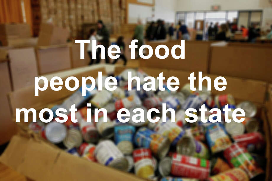Click through the slideshow to see the food people in each state hate the most, according to a recent list released by the Daily Meal.