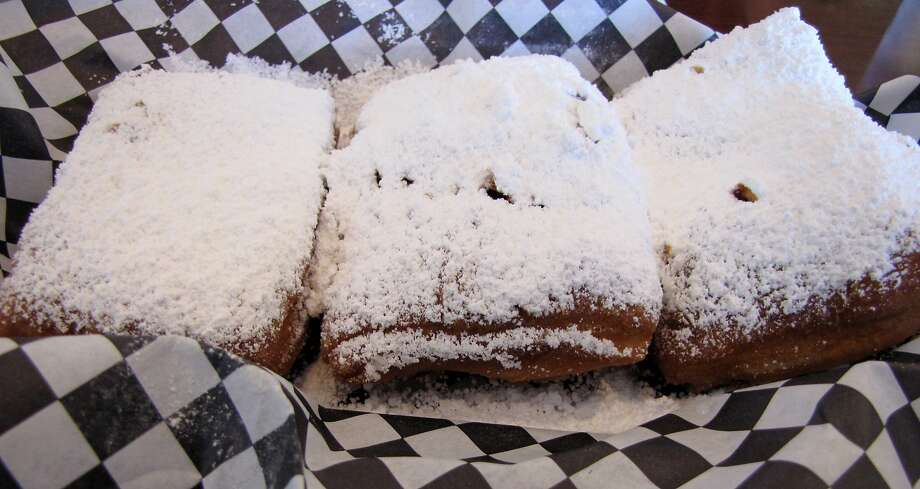 Beignets at Queen's Louisiana Po-Boy Cafe Photo: Stephanie Wright Hession
