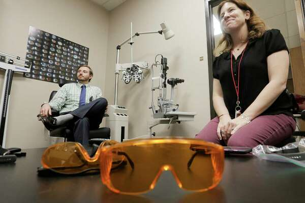 Researcher Lisa Ostrin, and her study co-author, Kaleb Abbott, published their research on the effects of blue LED light on sleep in the medical journal published by the College of Optometrists.
