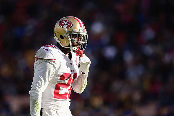 LOS ANGELES, CA - DECEMBER 24:  Tramaine Brock #26 of the San Francisco 49ers reacts during the game against the Los Angeles Rams at Los Angeles Memorial Coliseum on December 24, 2016 in Los Angeles, California.  (Photo by Harry How/Getty Images)