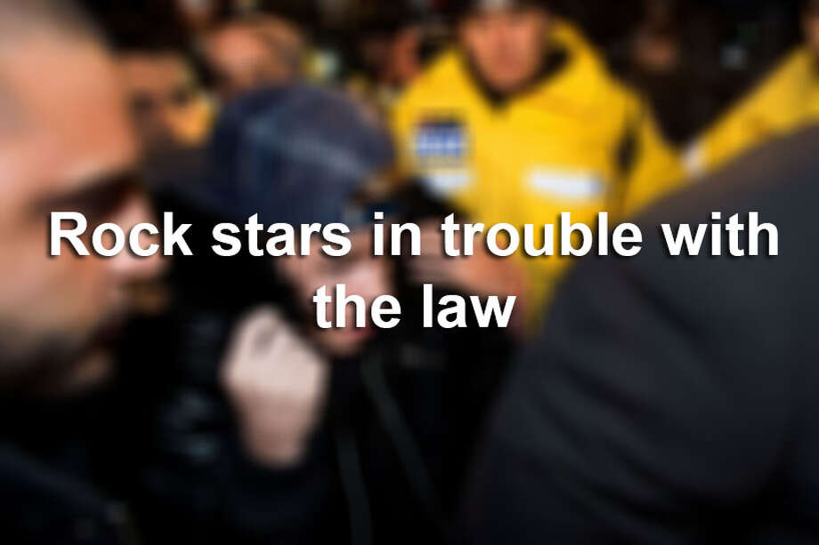 Click ahead to see which celebrities were once in trouble with the law. Photo: File