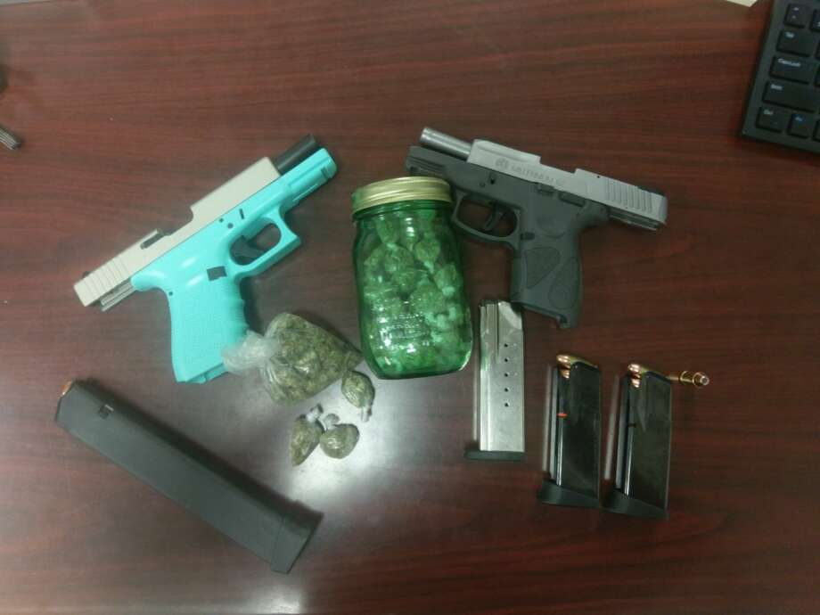 Items recovered from a traffic stop made by Pinehurst Police on Tuesday, August 15, 2017. Photo: Pinehurst Police Department
