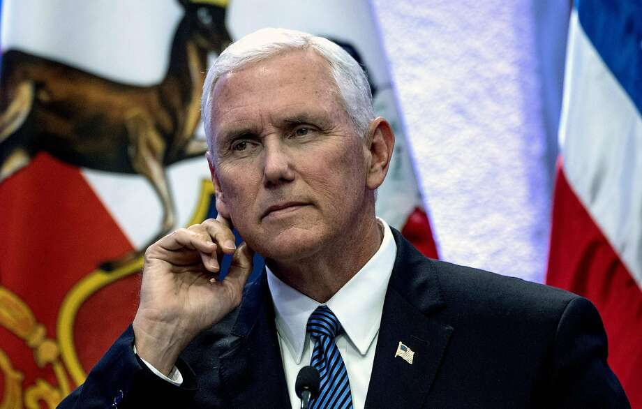 Vice President Mike Pence is cutting short his trip to Latin America to join a meeting on North Korea. Photo: MARTIN BERNETTI, AFP/Getty Images