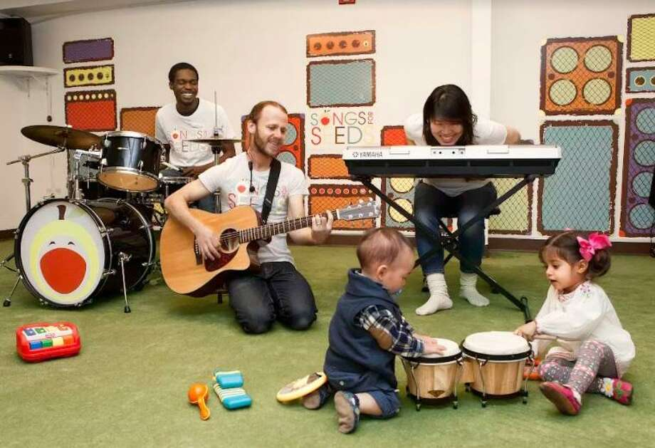 Songs For Seeds, a New York City franchise offering Mommy and Me music classes, is opening a location in Darien in September. Photo: Contributed Photo / Contributed Photo / Darien News contributed