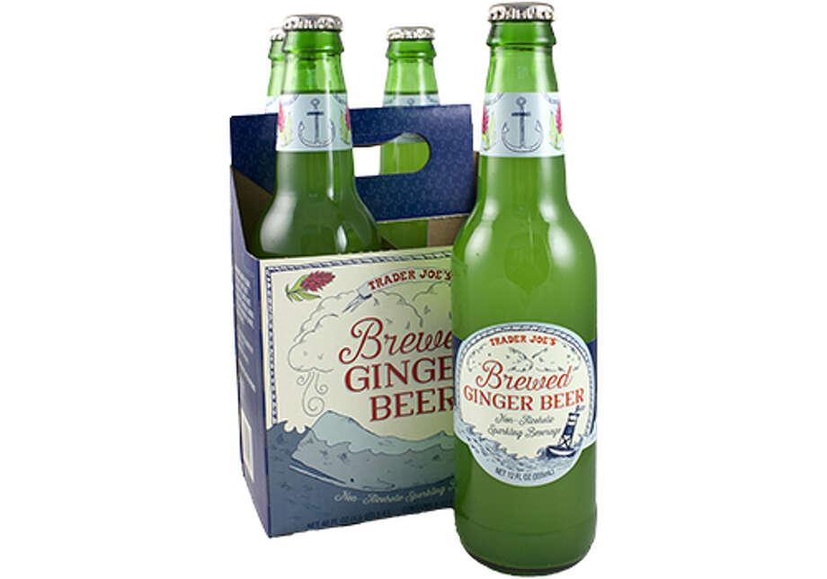 BEVERAGES: Brewed Ginger Beer Photo: Trader Joe's