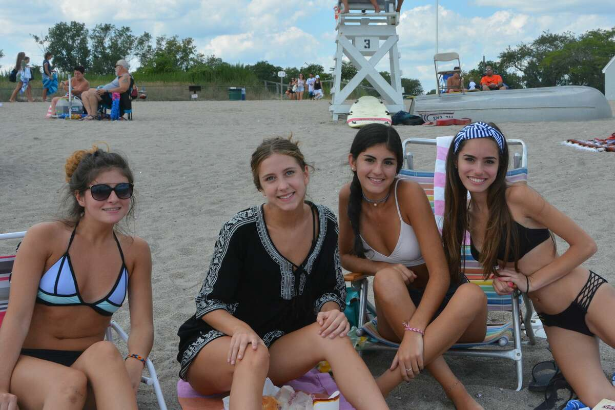 Beach goers soaked up the sun at Jennings Beach in Fairfield on August 16, 2017. Were you SEEN?