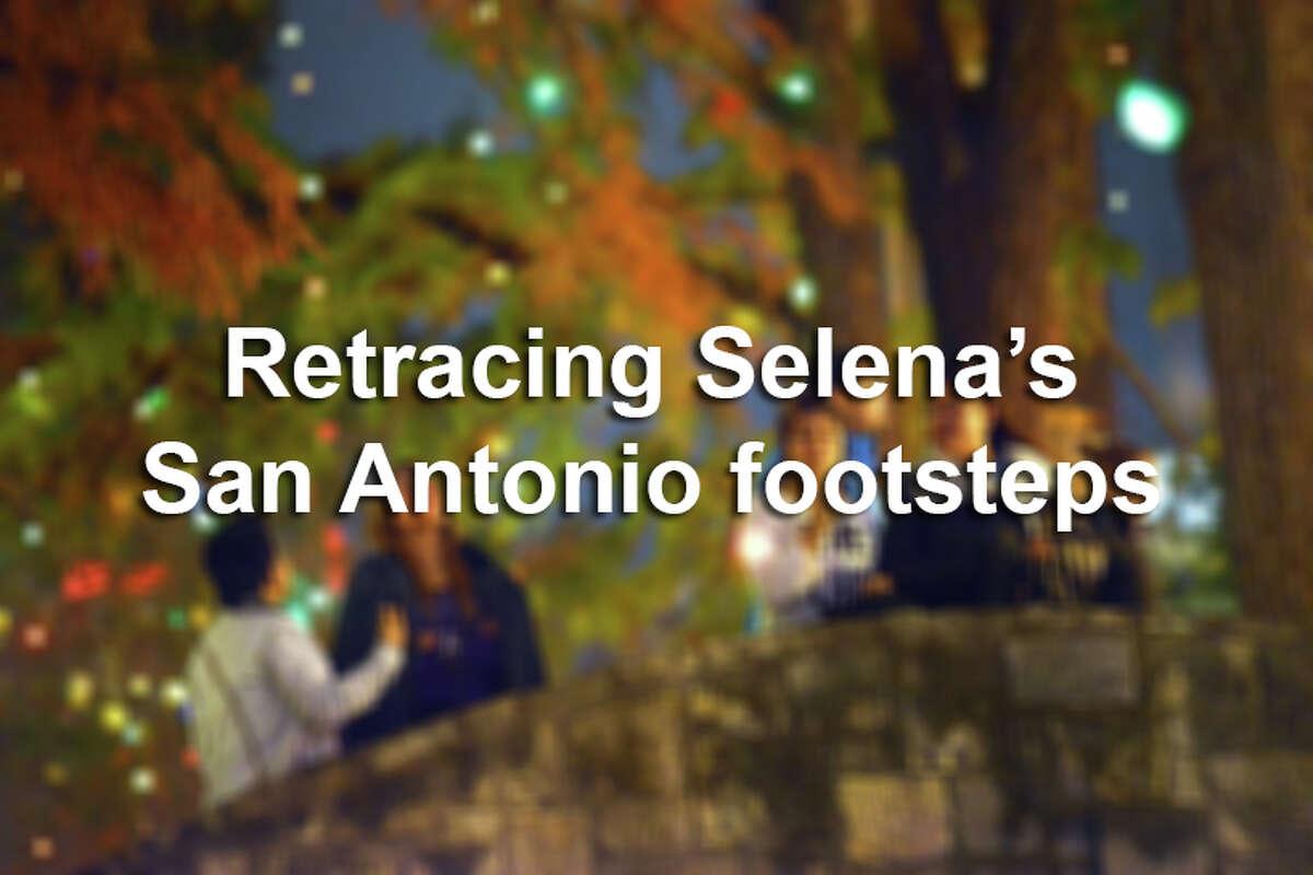 Keep clicking to see the San Antonio landmarks with ties to Selena.
