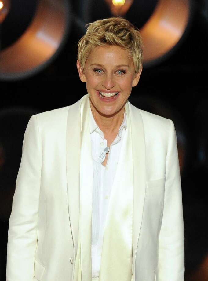 HOLLYWOOD, CA - MARCH 02:  Host Ellen DeGeneres speaks onstage during the Oscars at the Dolby Theatre on March 2, 2014 in Hollywood, California.  (Photo by Kevin Winter/Getty Images) Photo: Kevin Winter/Getty Images