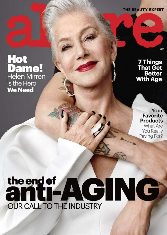Helen Mirren graces the cover of Allure's Sept. issue Photo: Allure