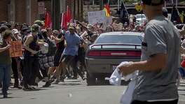 On Saturday, white supremacist groups clashed with hundreds of counter-protesters during the ''Unite The Right'' rally in Charlottesville, Va. Dozens were injured in skirmishes and many others after a white nationalist plowed his sports car into a throng of protesters. One counter-protester died after being struck by the vehicle.
