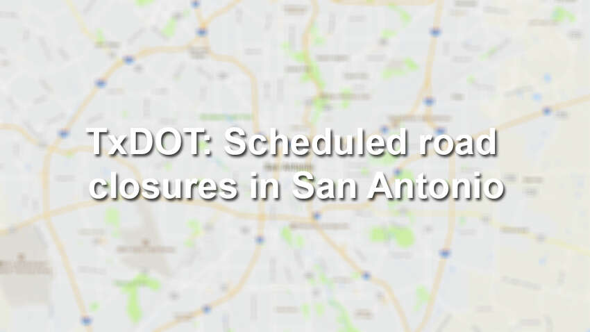 See which highways and roads in San Antonio are scheduled to close and why. Visit the Texas Department of Transportation's website for a regularly updated list of road closures throughout the city.