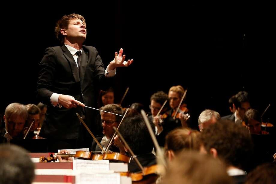 Conductor�Krzysztof Urbanski Photo: Caroline Doutre / Festival De Paques