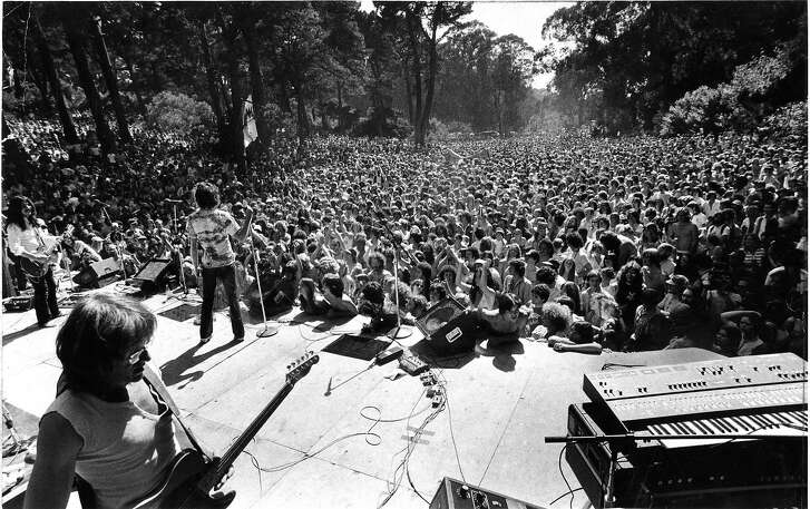 Oursf Golden Gate Park  Rock concert in Marx Meadows with Jefferson Starship Photo ran 05/14/1979, P. 2