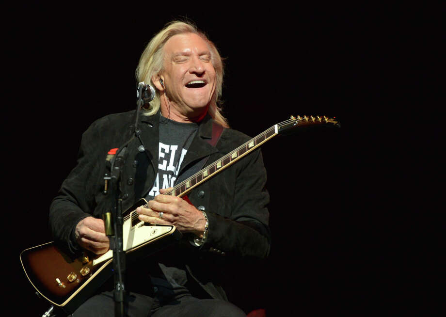 """A rock 'n' roll survivor, Joe Walsh would surely admit that life has been good to him so far (unlike many of his peers). Walsh who turns 70 in November, showed off his still-impressive guitar chops while playing his signature solo hit last week with house band Jean Baptiste and Stay Human on """"The Late Show With Stephen Colbert."""" Still featuring a voice that one scribe once described as """"like someone taught a synthesizer to talk,"""" his career-spanning set lists have ranged from the James Gang (""""The Bomber"""" suite) to the Eagles (""""Take It to the Limit"""") to solo smashes (""""Rocky Mountain Way"""" and, yes, """"Life's Been Good"""").8 p.m. Majestic Theatre, 224 E. Houston St. J.D. & the Straight Shot will open. $65-$115, 210-226-5700, ticketmaster.com-- Robert Johnson  Photo: John Shearer, Associated Press / Invision"""