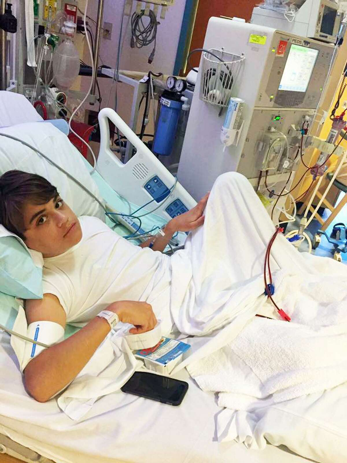 Joey Bavaro suffers from a rare kidney disease. Greenwich-based Needs Clearing House is hoping to raise money for his medical costs.