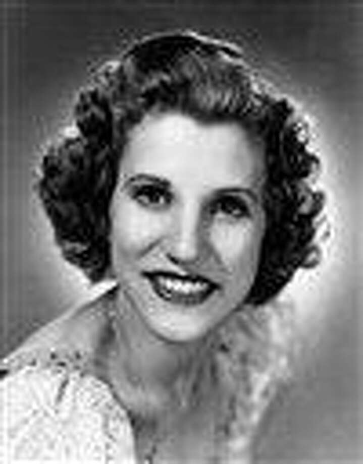 FILE - This 1942 file photo shows singer Patty Andrews, the last survivor of the three singing Andrews sisters, who has died in Los Angeles at age 94. Andrews died Wednesday, Jan. 30, 2013, at her home in suburban Northridge of natural causes, said family spokesman Alan Eichler.  (AP Photo, File) Photo: AP / AP