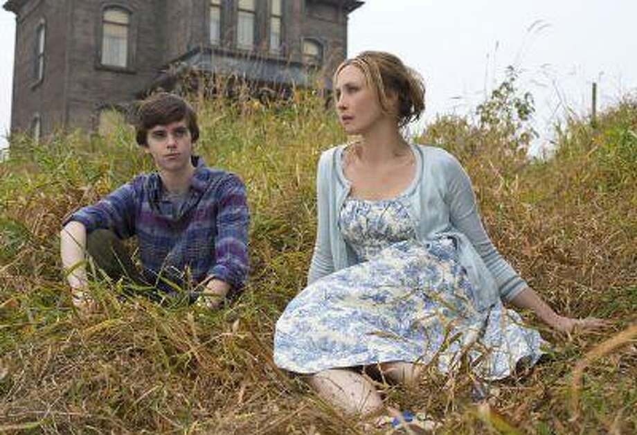 "Freddie Highmore as Norman Bates and Vera Farmiga as Norma Bates in A&E's ""Bates Motel"" coming in March 2013.  Photo by Joe Lederer Copyright 2011 Photo: POST_UPLOAD / The Denver Post"