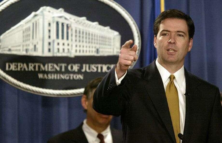 James B. Comey (Associated Press photo)
