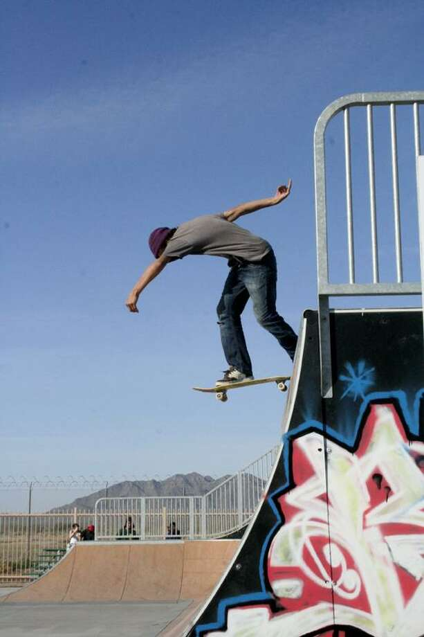Contributed photo: Jim Murphy says skateboarding helped ease the pain of a troubled home life, and it transformed him into the pro he is today.