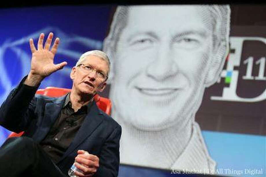 """Apple CEO Tim Cook is seen during the """"All Things Digital"""" D11 conference in Rancho Palos Verdes, Calif., May 28, 2013. Photo: Reuters / X80001"""