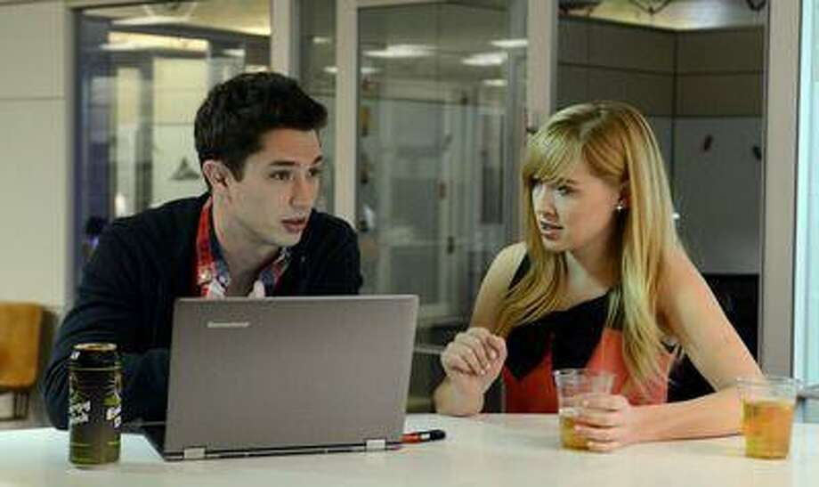 "This undated image provided by Amazon shows actors Joe Dinicol, left, and Sarah Stouffer act out a scene from an episode of ""Betas,"" one of 14 TV show pilots being made by <a href=""http://Amazon.com"">Amazon.com</a> Inc. Amazon is hoping people will sign up to pay $79 a year for an Amazon Prime membership, a free shipping, online video and e-book borrowing service that will include access to the full series on the Web, connected TVs and mobile devices when they're completed. (AP Photo/Amazon) Photo: AP / Amazon net"