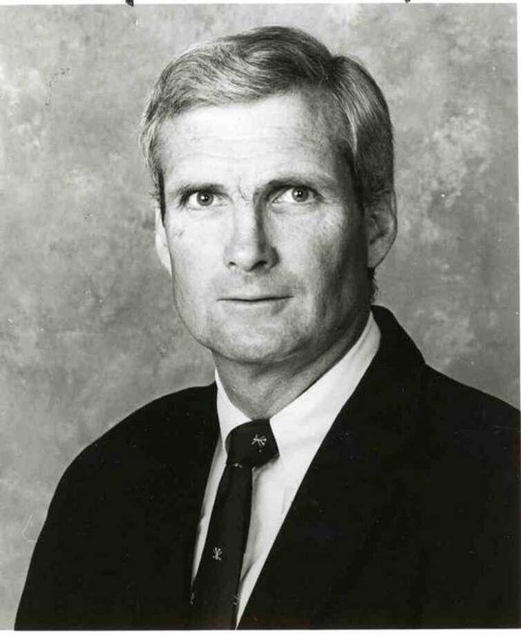 Yale hockey coach Tim Taylor.  Register file photo
