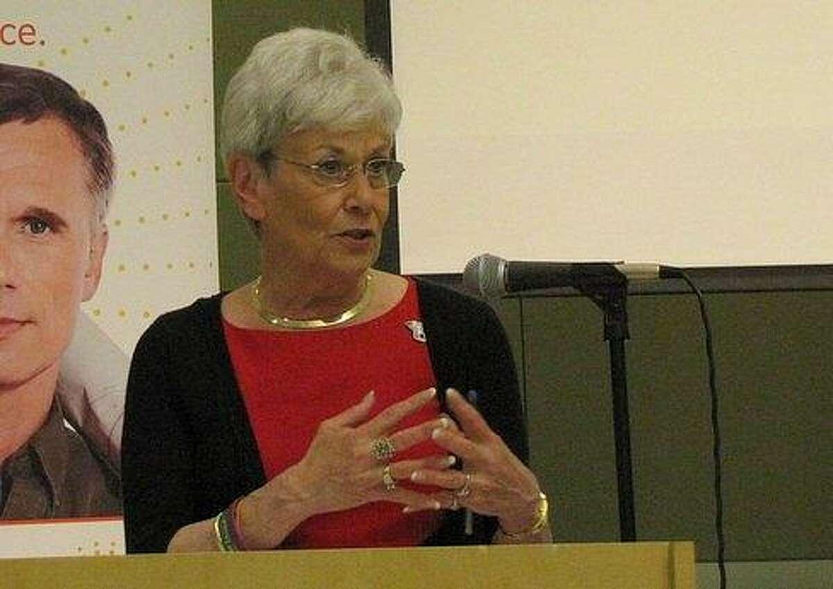 Lt. Gov. Nancy Wyman, who co-chairs the Insurance Exchange Board. Hugh McQuaid/CT NewsJunkie