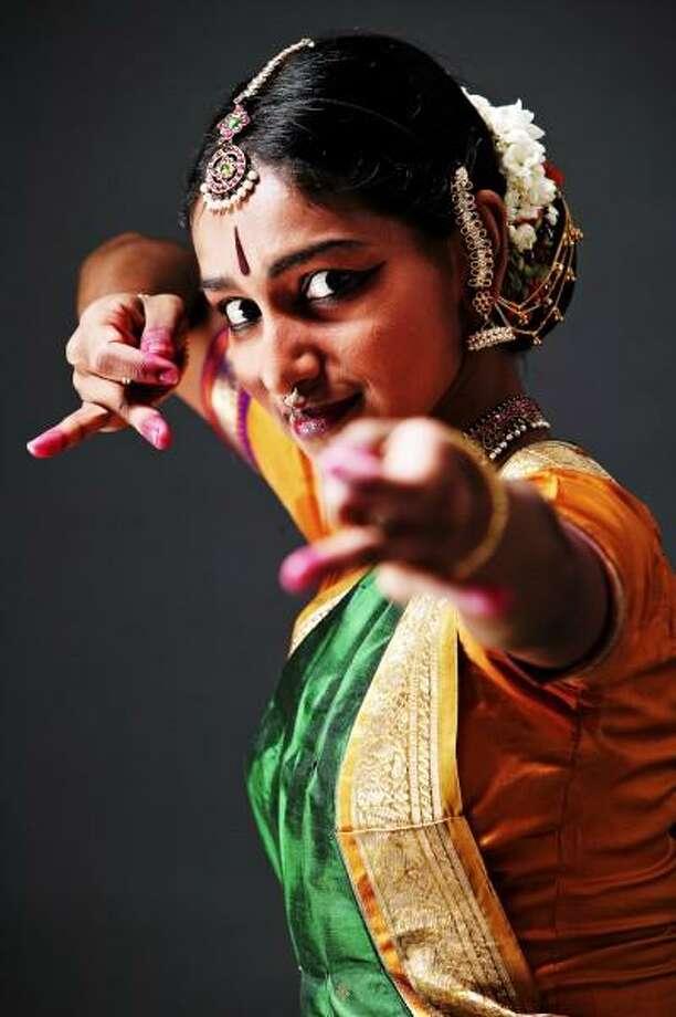 C.P. Satyajit photo: Shintala Shivalingappa will perform a new work at Arts & Ideas. Fleet feet, snappy hand gestures, face and body language all tell the story.