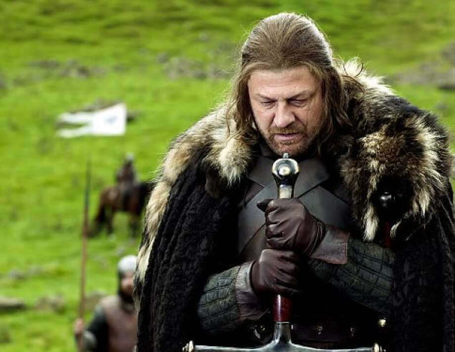 """Lord Stark from """"Game of Thrones"""" (AP photo)"""