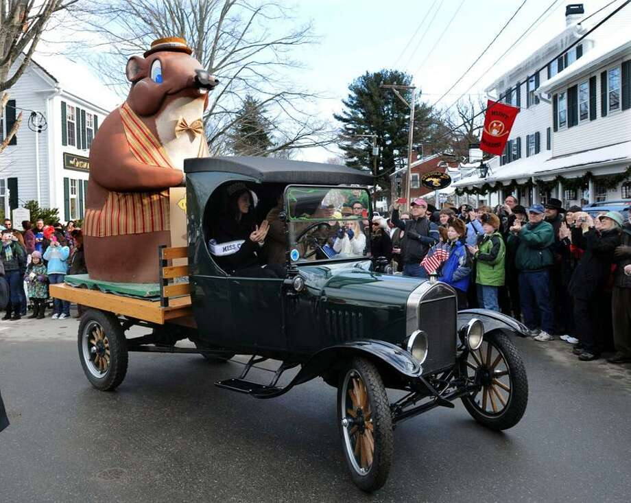 Contributed photo: How will they dress Essex Ed this year? You'll have to be at the parade to find out.