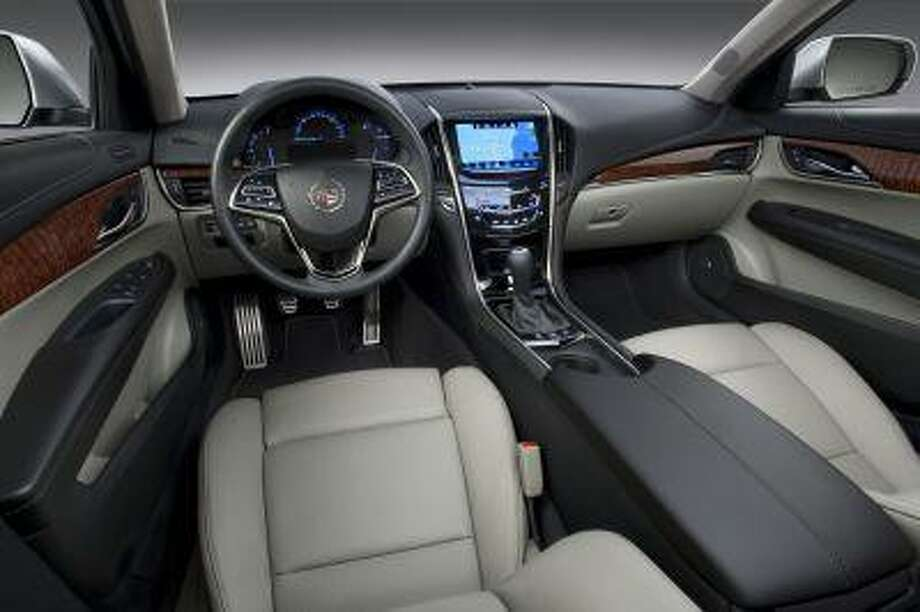 2013 Cadillac ATS compact luxury sedan interior. (Alan Vanderkaay/General Motors handout) / License Agreement - Please read the following important information pertaining to this image. This GM image is protected by copy