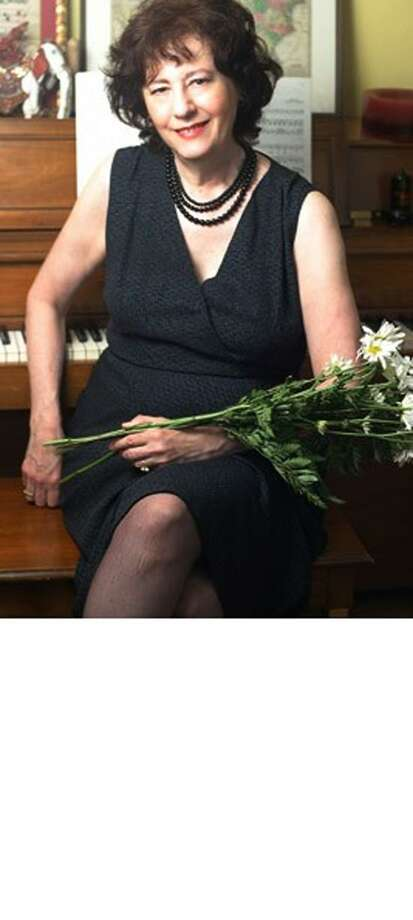 Contributed photo: Ellen Creane leads Sing!Sing!Sing! a singalong of Cole Porter songs Sunday afternoon in Guilford.