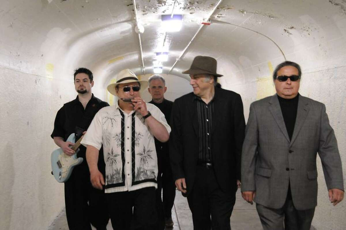Contributed photo: Stonington's Sugar Ray Norcia, second from left, brings the Bluetones to Cafe Nine Friday night at 9.