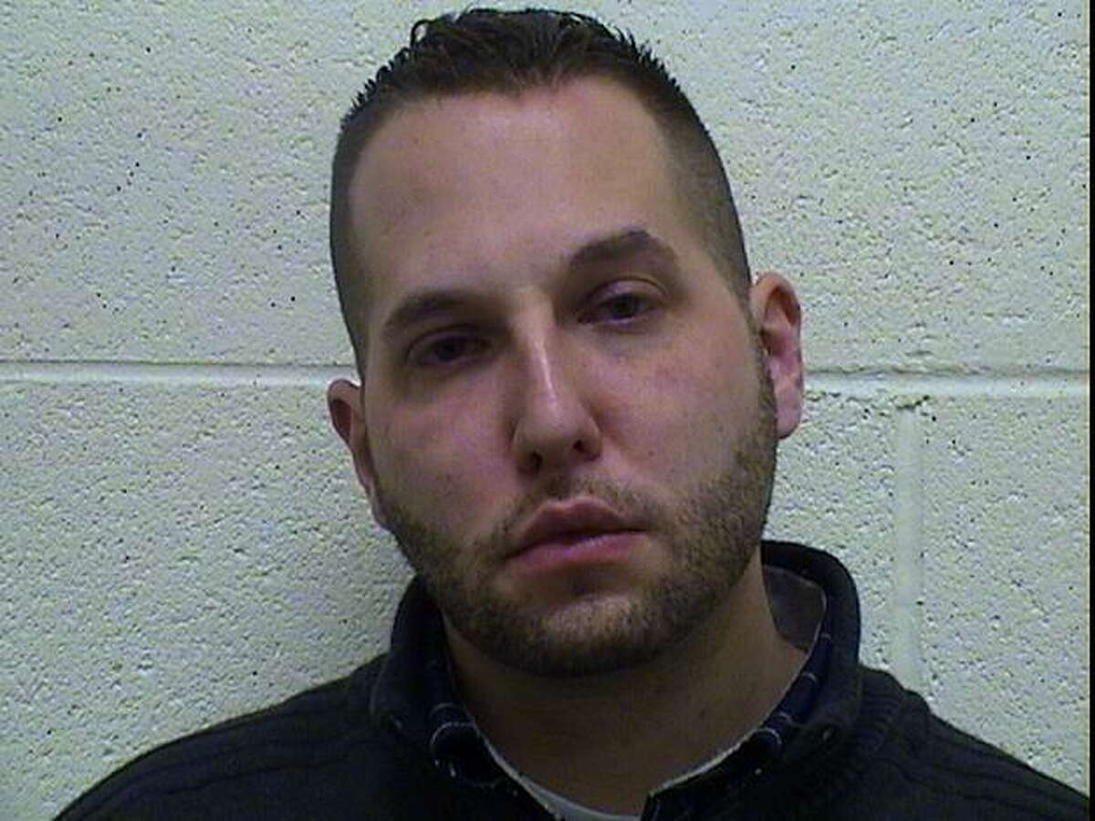 Matthew Gonska, a Torrington police offier, was charged with DUI Tuesday, Feb. 12, 2013. Contributed photo.