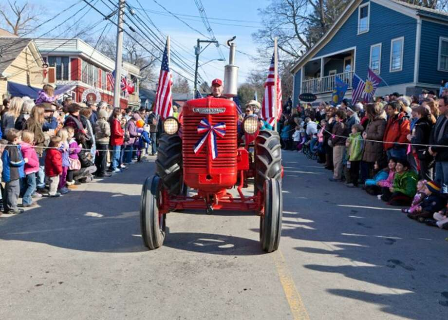 Contributed photo: Tractors compete for the best-decorated Iron Steed Award.