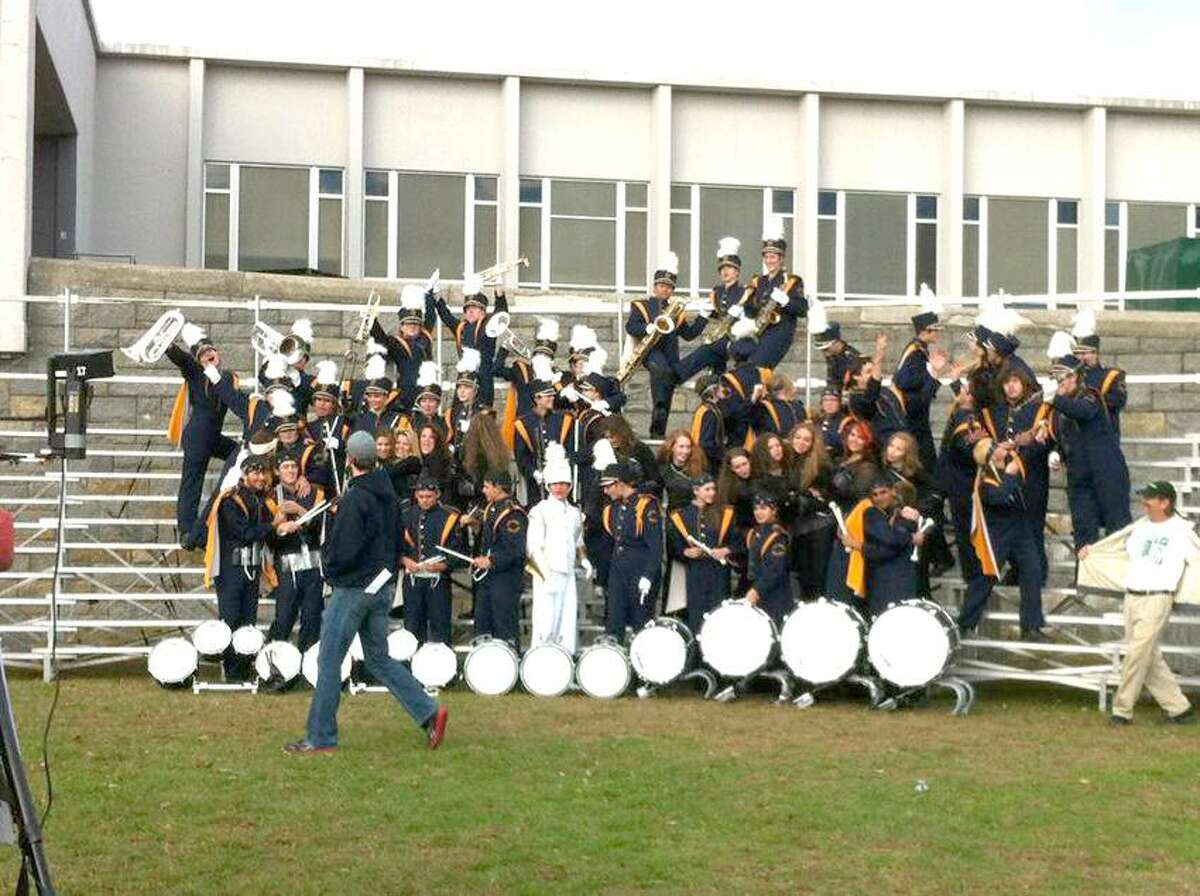 Contributed photo: The East Haven High School Marching Band.