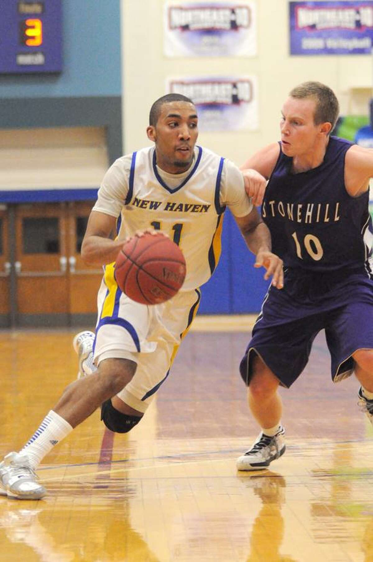 University of New Haven junior Justin Exum. (Submitted photo)