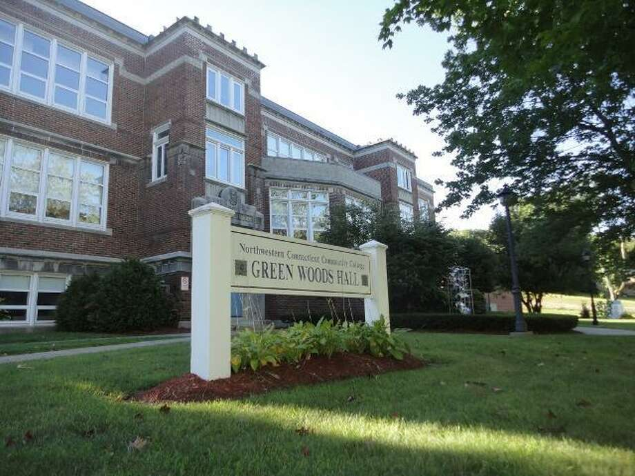 Green Woods Hall, which houses offices and classrooms for Northwestern Connecticut Community College, is in line to receive $1.06 million from the state bond commission for repairs.  JASON SIEDZIK/ Register Citizen