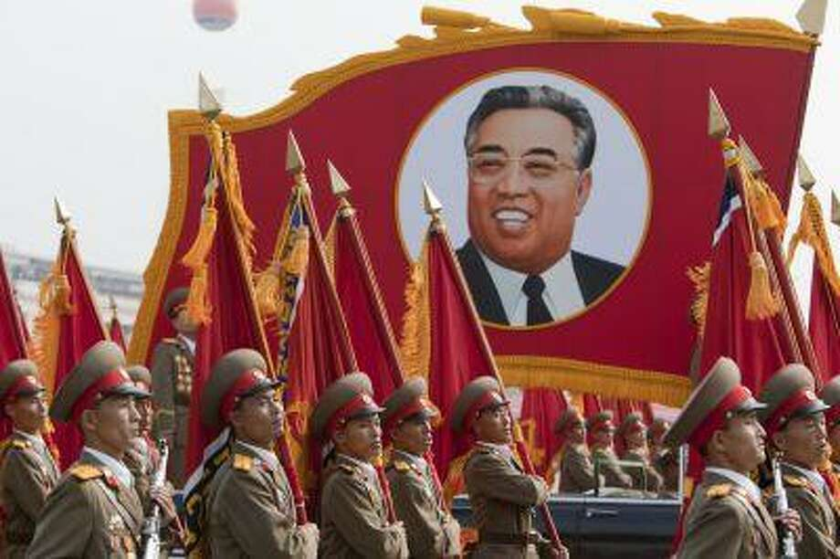 North Korea's dictators, particularly its founder Kim Il Sung, the grandfather of the current leader, receive adulatory treatment.